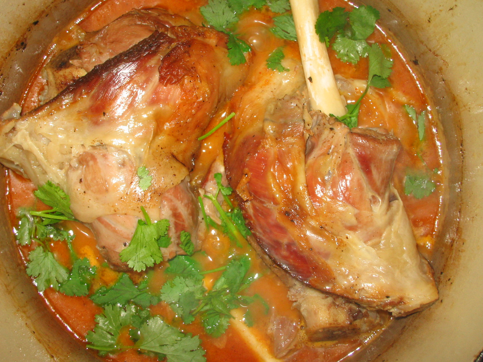 how to prepare lamb shanks before cooking