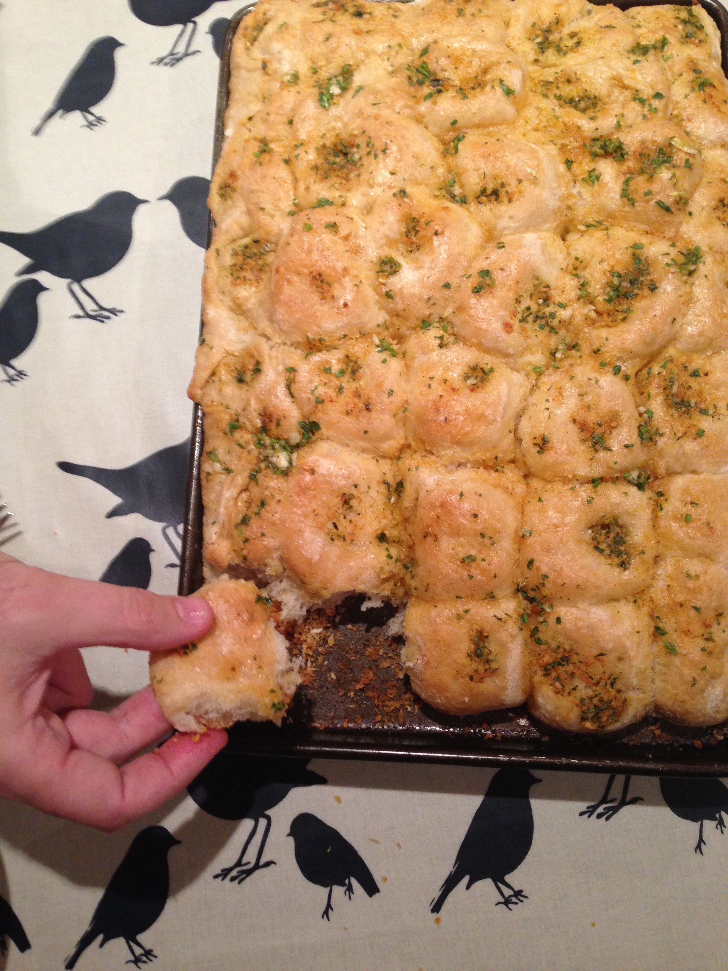 Tear n share garlic bread from jamies comfort food a img5880 forumfinder Choice Image