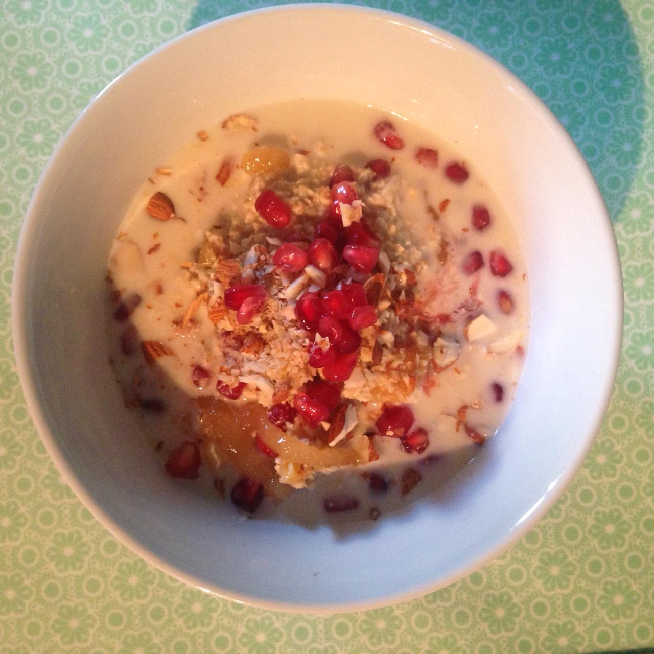 Pomegranate Muesli A Cookbook A Month